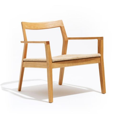 Krusin Lounge Chair with Arms by Marc Krusin for Knoll International - Aram Store