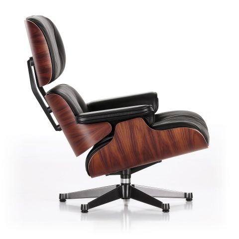 Eames Lounge Chair Santos Palisander by Charles & Ray Eames for Vitra - Aram Store