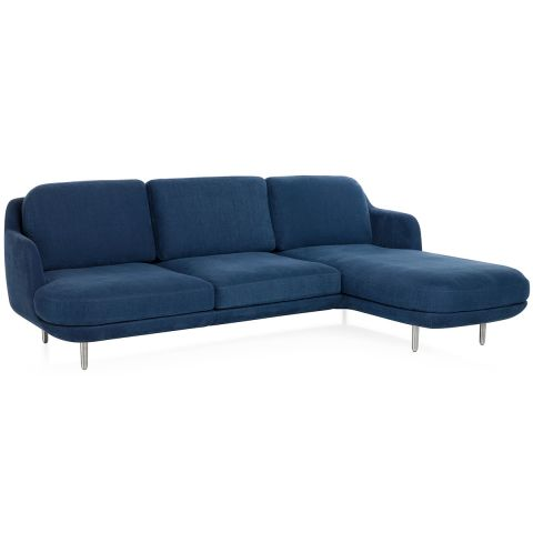 Lune sofa with chaise by Jaime Hayon for Fritz Hansen at Aram store