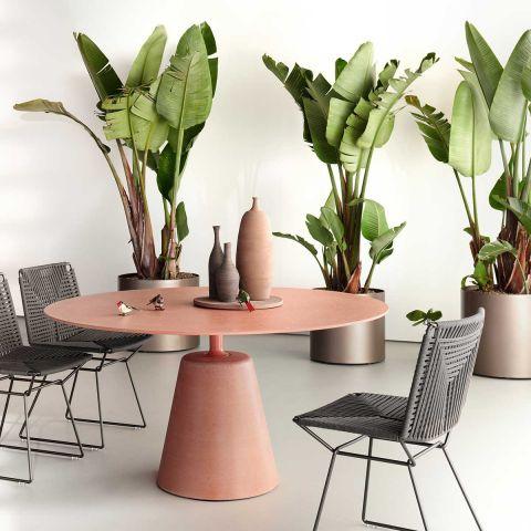 Rock Outdoor Table - Jean Marie Massaud - MDF Italia - Aram Store