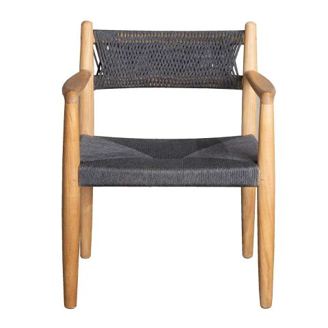 Royal Outdoor Dining Chair by Foersom and Hiort-Lorenzen MDD for Cane-line - Aram Store