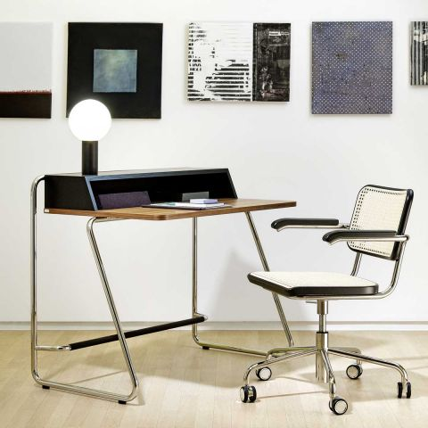S64 VDR Cane Desk Chair
