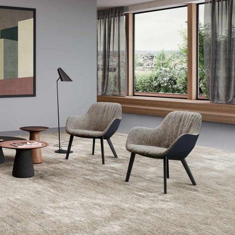 Sheru Lounge Armchair by EOOS from Walter Knoll - Aram Store