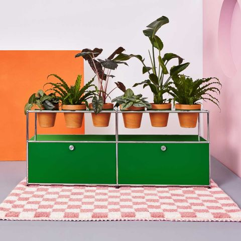 USM Sideboard with Flower pots by USM - Aram Store