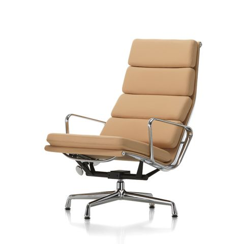 Soft Pad EA 222 Chair by Ray & Charles Eames for Vitra - ARAM Store