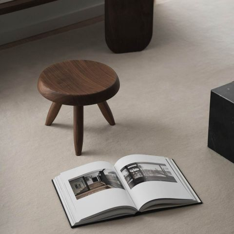 Tabouret Berger Stool by Charlotte Perriand for Cassina - ARAM Store