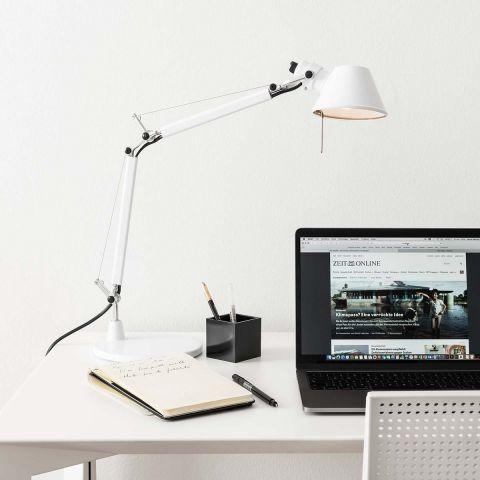 Tolomeo Micro Table / Desk Lamp - Michele de Lucchi - Artemide - ARAM Store