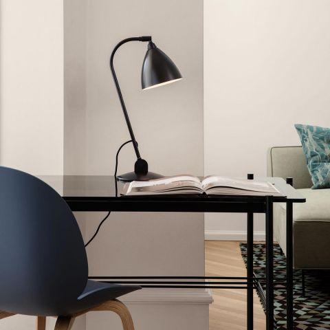 TS Desk smoked glass - Gam Fratesi for Gubi - ARAM Store
