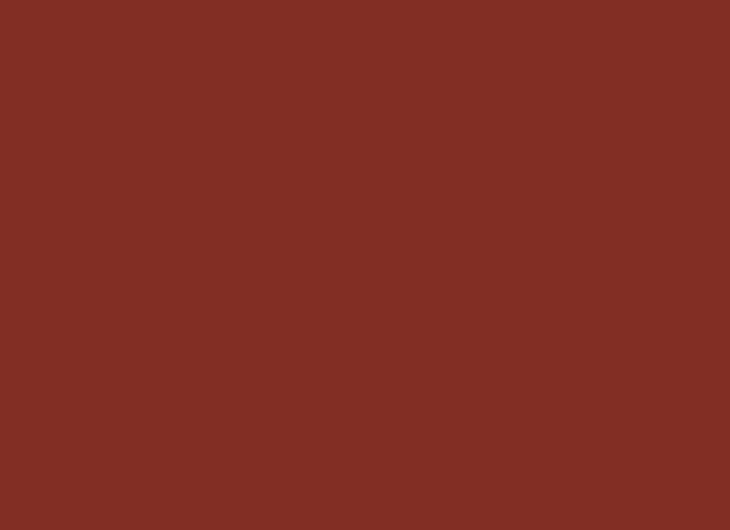 Beech Frame Lacquered Dark Red