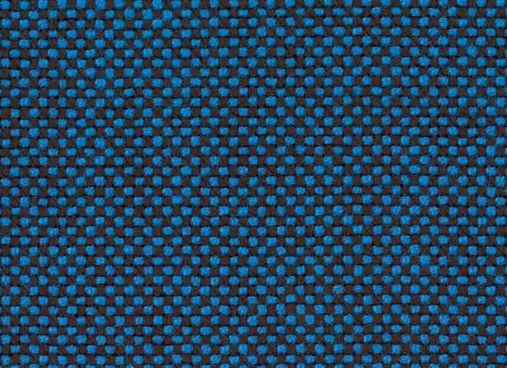 Blue Brown 84 Hopsak White Piping