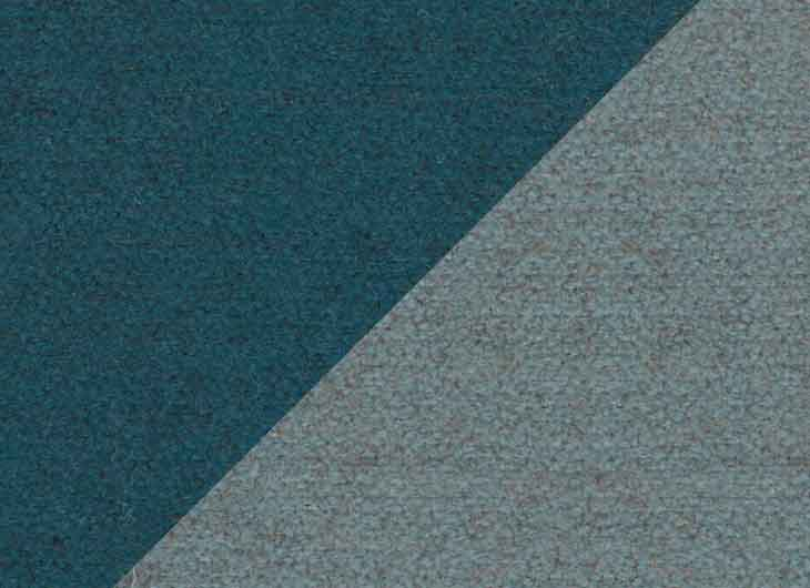 Blue Green 09 and Ice Blue 07 Perth Fabric