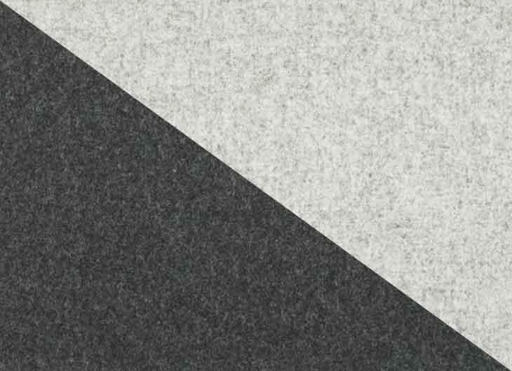 Charcoal 180 Seat Pale Grey 120 Shell Divina Mel