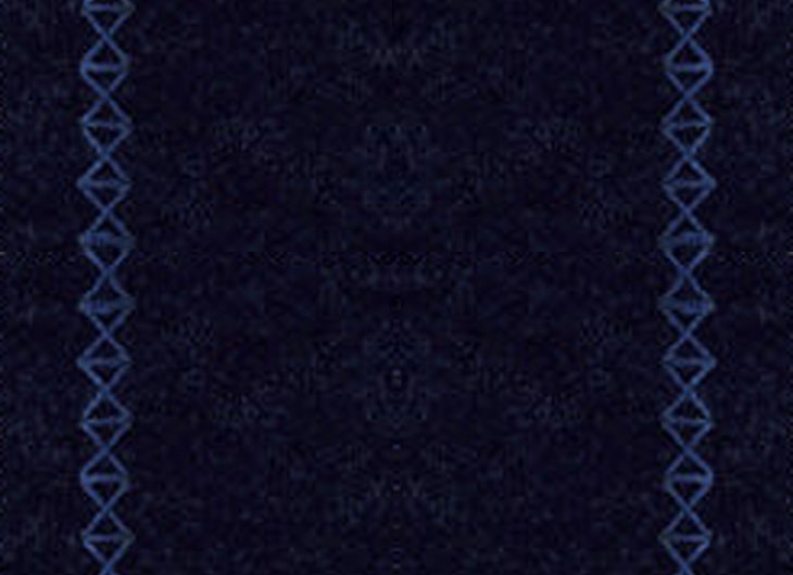 Cosy 09 Night Blue Wool Upholstery