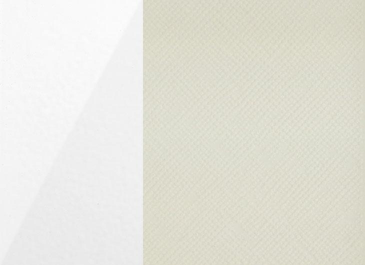 Gloss White Outer Textured Light Grey Inner
