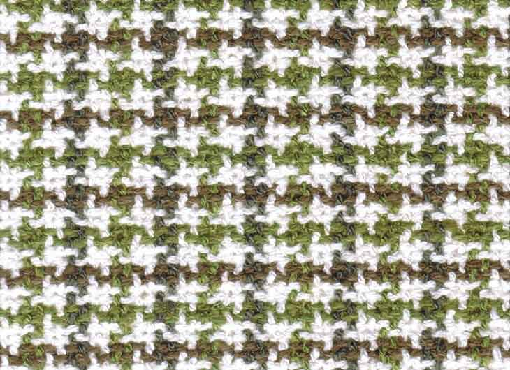Green Brown Check 072 William Fabric