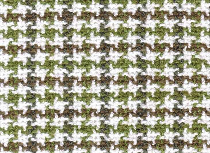 Green Brown Check 072 William Fabric