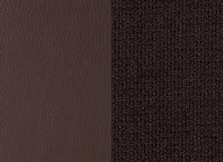 Leather Chocolate 68 and Plano Brown 54