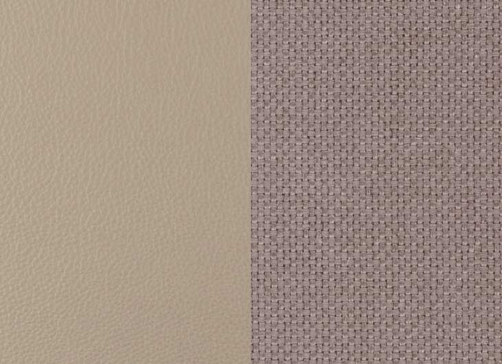 Leather Sand 71 and Plano Mauve Grey 71