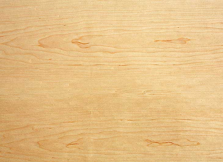 Natural Maple Veneer Top