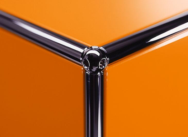 Orange Lacquer Panels