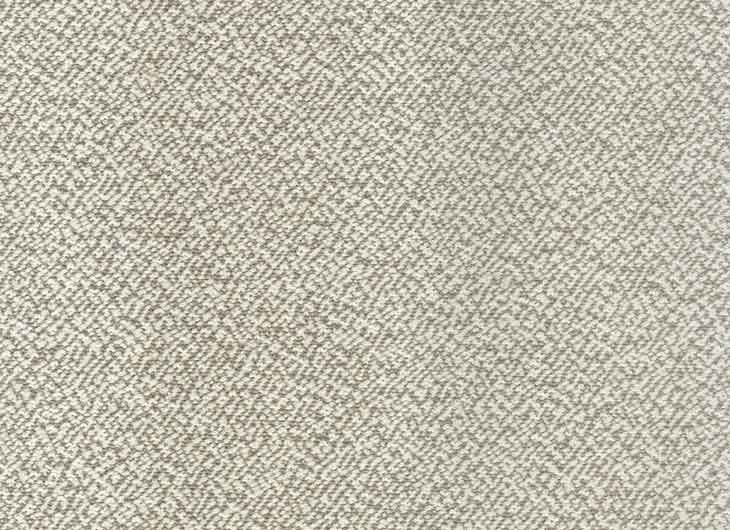 Parigi 1 White Beige Fabric White Stitching