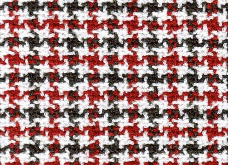 Red Black Check 051 William Fabric