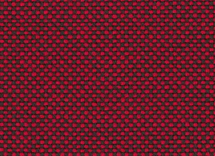 Red Brown 62 Hopsak White Piping