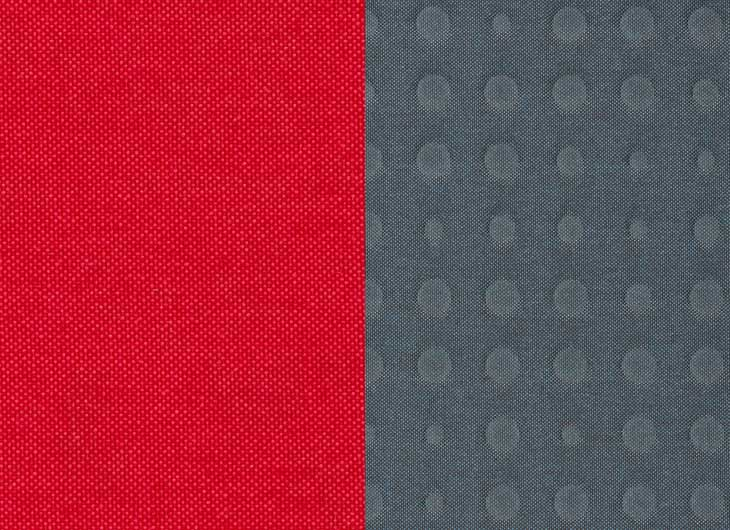 Red Quilt Grey Highfield Shell