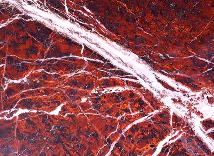 Rosso Rubino Marble Top