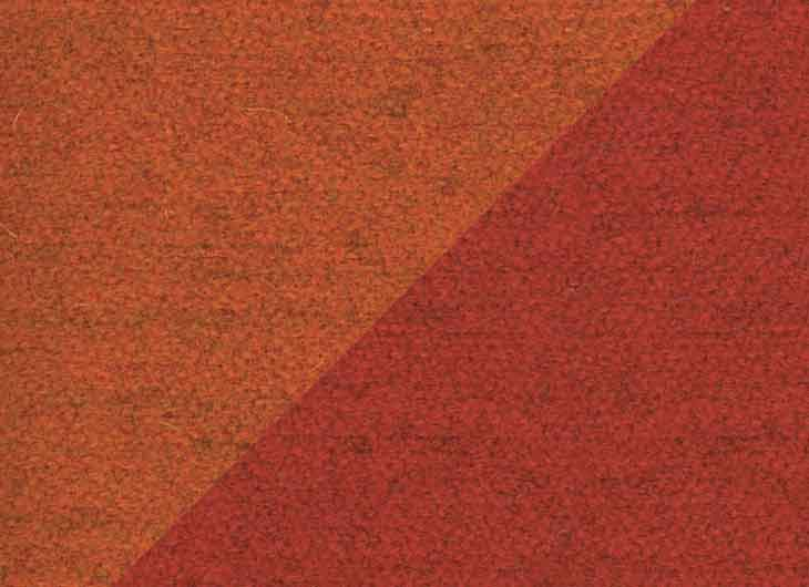 Rust 20 and Red 19 Perth Fabric