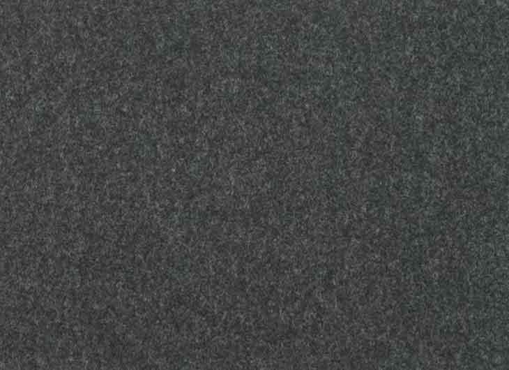 Seat in Divina Melange Wool 180 Charcoal
