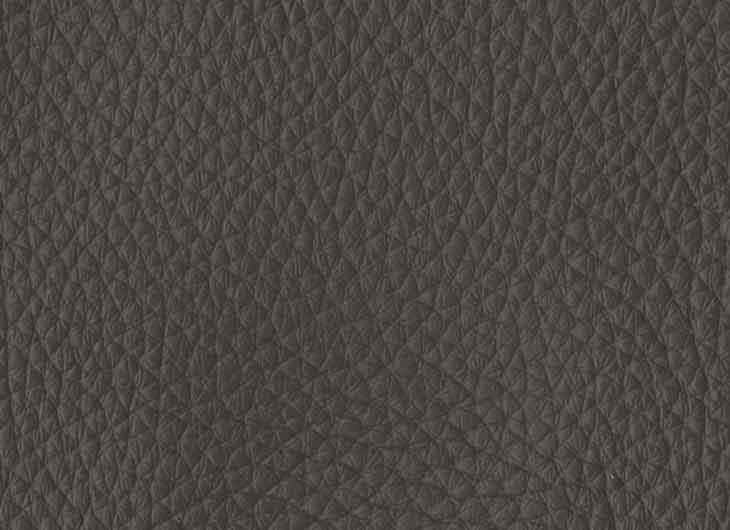Seat in Loke Leather 7110 Dark Grey