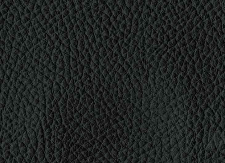 Seat in Loke Leather 7150 Black