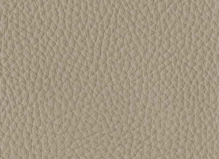Seat in Loke Leather 7766 Light Grey
