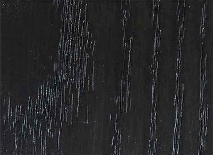 Black Lacquered Oak Frame