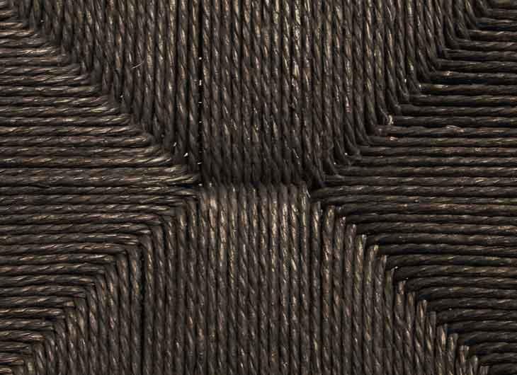 Black Papercord Seat