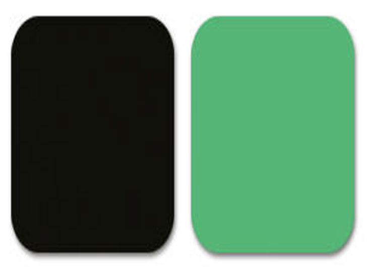 Green Arms Black Base Soft Castors