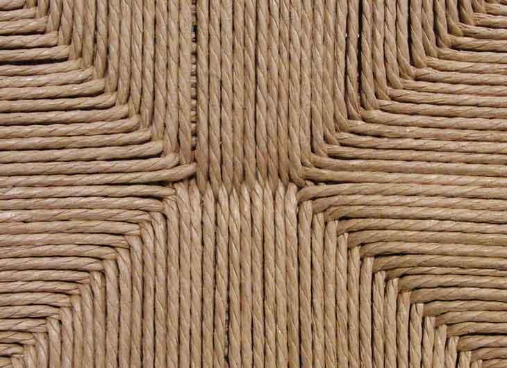 Natural Papercord Seat