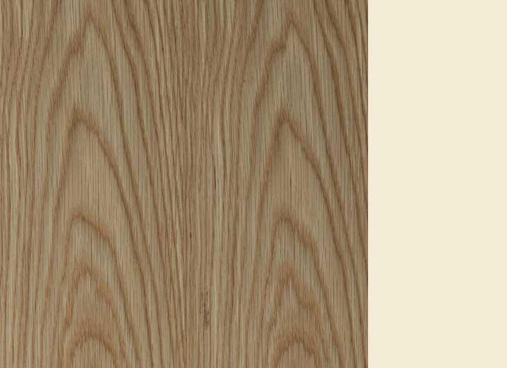 Oak Frame Cream Inside