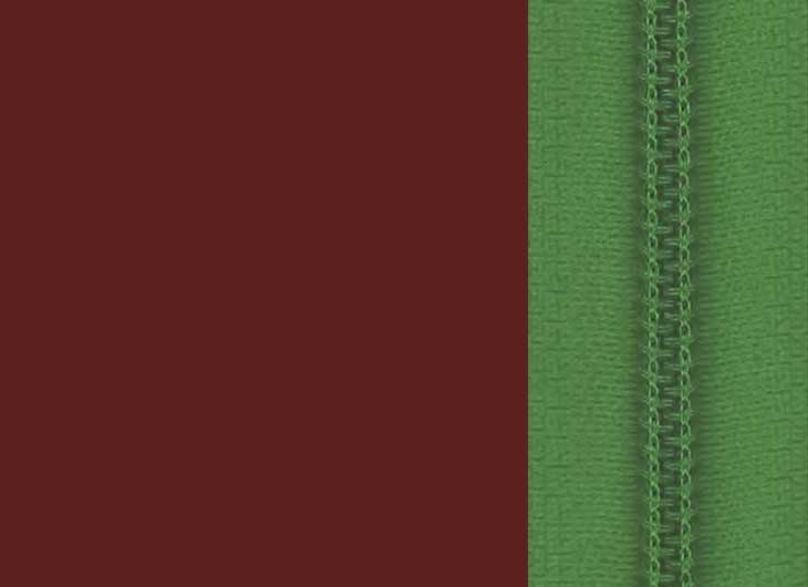 Oxide Red Base and Green Zip