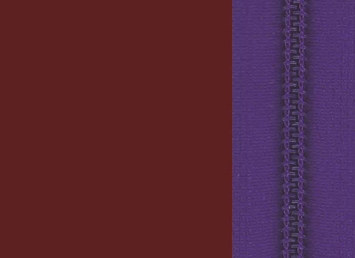 Oxide Red Base and Violet Zip