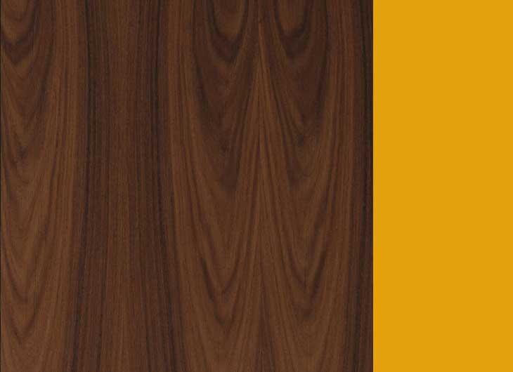Santos Palisander Frame Yellow Inside